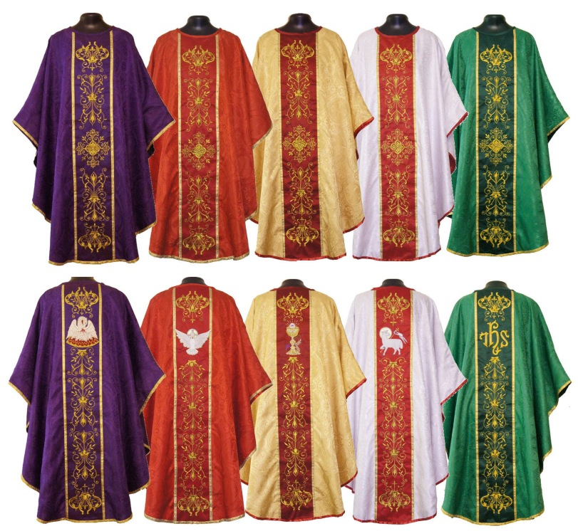 Why priests wear different vestments at Mass? | VIETNAM ...